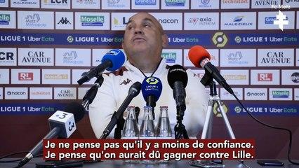 Metz - Troyes, la conférence d'avant-match