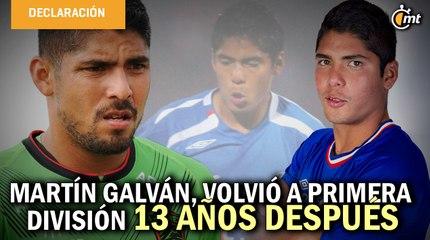Martín Galván, el 'niño' que debutó Cruz Azul y que 13 años después volvió a primera división