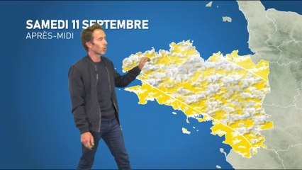 Bulletin météo pour le samedi 11 septembre