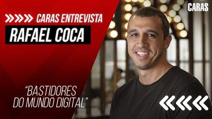 Rafael Coca fala sobre bastidores da criação de conteúdo e importância da reinvenção