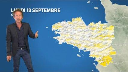 Bulletin météo pour le lundi 13 septembre