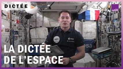 La Dictée de l'espace, avec Thomas Pesquet