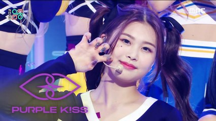 [Comeback Stage] PURPLE KISS - Zombie, 퍼플키스 - 좀비 Show Music core 20210911