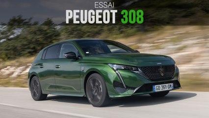 Essai Peugeot 308 (2021) : à l'attaque de la Golf !