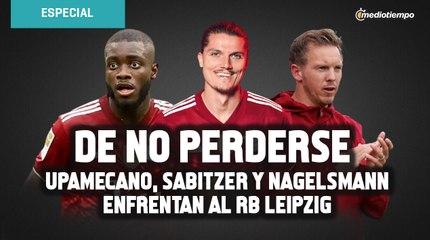 ¡De no perderse! El reencuentro de Upamecano, Sabitzer y Nagelsmann con Leipzig