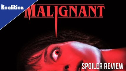 Malignant Spoiler Review - Is this James Wan's Best Horror Movie?