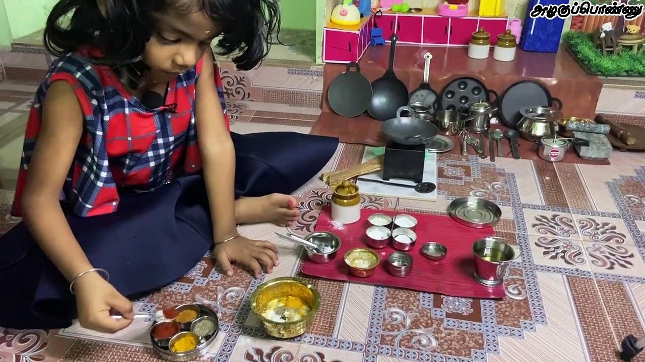 How to make Tasty Prawn Fry | Mini Prawn 65 | Prawn Varuval | இறால் 65 | How to Miniature Cooking
