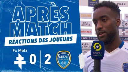 FC Metz 0-2 ESTAC   Réactions de Salmier et Rodrigues