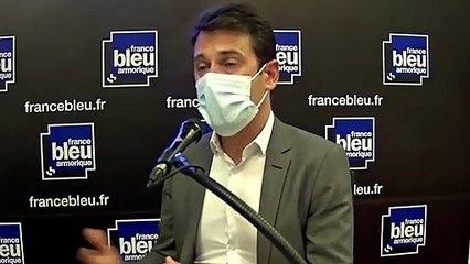 Julien Robinet, directeur collecte et production de l'Etablissement français du sang de Bretagne