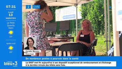 13/09/2021 - Le 6/9 de France Bleu Normandie en vidéo