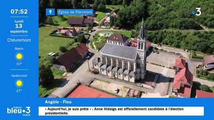 13/09/2021 - Le 6/9 de France Bleu Belfort Montbéliard en vidéo