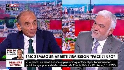Eric Zemmour ne sera plus à l'antenne de CNews