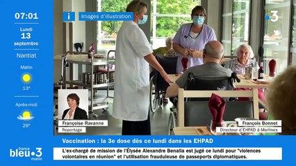 13/09/2021 - Le 6/9 de France Bleu Limousin en vidéo