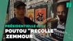 """À Bordeaux, Philippe Poutou recouvre les affiches """"Zemmour président"""""""