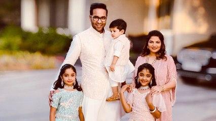 Manchu Vishnu shares beautiful family moments
