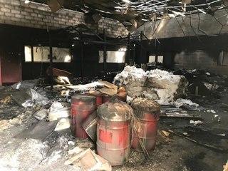 Incendie dans un complexe de foot indoor à La Chapelle-Saint-Luc