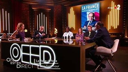 """Laurent Ruquier et Eric Zemmour dans """"On est en direct"""" sur F2"""