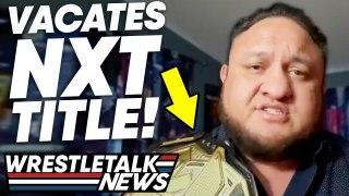 Samoa Joe INJURY! WWE CUTS In NXT! WWE Heat Over CM Punk! ROH Results | Wrestling News