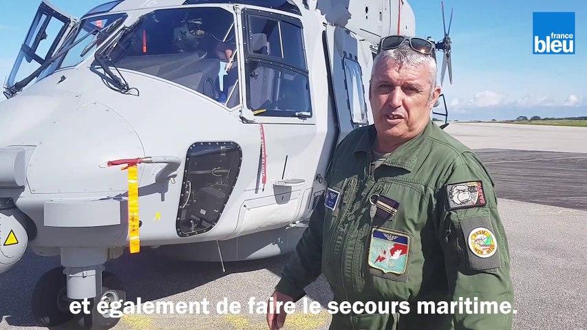 Présentation de l'hélicoptère Caïman NH90