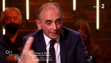 Eric Zemmour veut que les Français ne portent pas pas un prénom étranger
