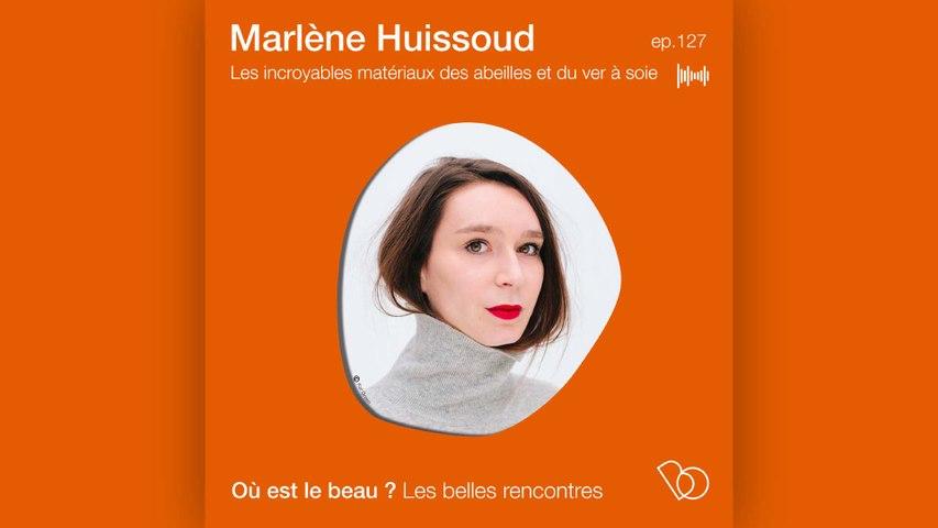 Podcast : Où est le beau ? Marlène Huissoud - les incroyables matériaux des abeilles et du ver à soie - Elle Déco