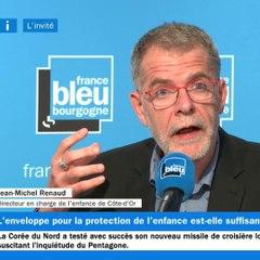 Jean-Michel Renaud, directeur en charge de l'enfance au conseil départemental de Côte-d'Or
