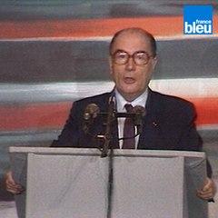 TGV : Discours inaugural de François Mitterrand