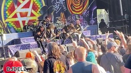Anthrax live 2021 blue ridge rock fest