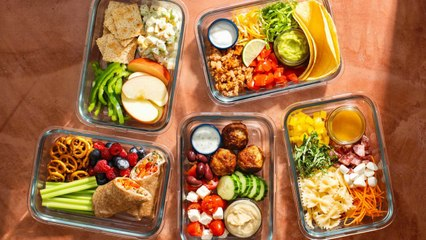 5-Day Lunch Meal Plan That Will Make Back-to-School Easy