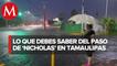 En Tamaulipas se preparan ante lluvias por _Nicholas_