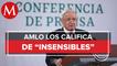 AMLO critica decisión de Corte para devolver dinero a herederos de Carmela Azcárraga