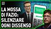 Fabio Fazio colpisce ancora: adesso ammetterà in tv solo i sostenitori del nuovo regime sanitario