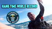 'Spanish Kiteboarder BREAKS WORLD RECORD for the Longest Hangtime *>60 Seconds* '