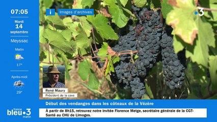 14/09/2021 - Le 6/9 de France Bleu Limousin en vidéo
