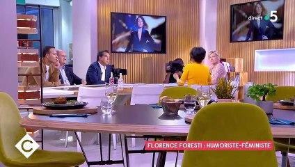 """Florence Foresti dans """"C à vous"""" sur France 5"""