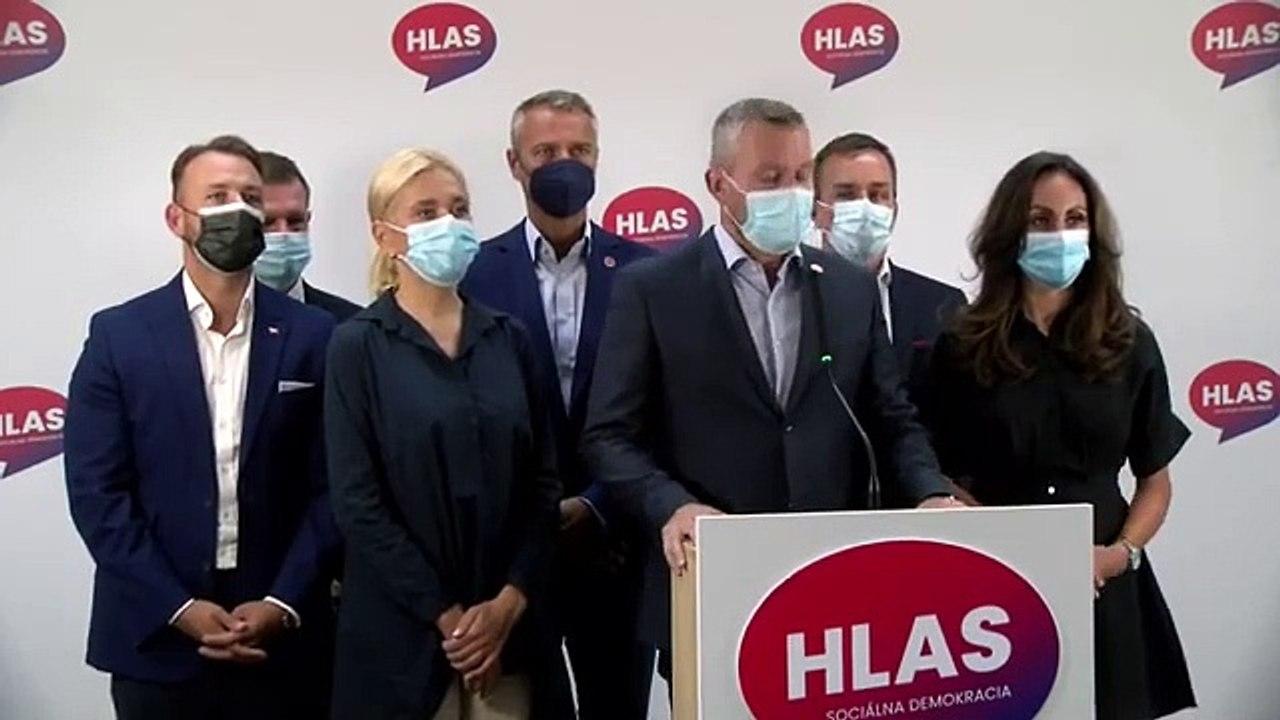 ZÁZNAM: TK strany HLAS-SD - Bezpečnostný rozvrat štátu