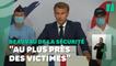"""Macron """"souhaite"""" la mise en place des """"plaintes en ligne dès 2023"""""""