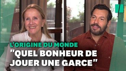 """Dans """"L'origine du monde"""", Laurent Lafitte malmène l'image de la """"gentille vieille dame"""""""
