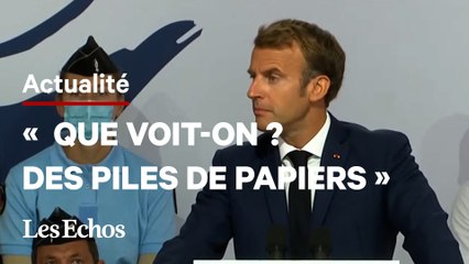 Emmanuel Macron s'attaque à la lourdeur des procédures pénales