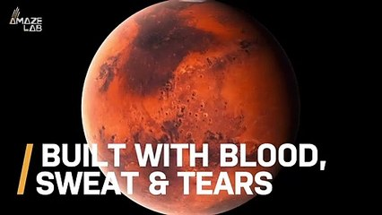 Martian Structures Could Someday Be Built From Literal Blood, Sweat and Tears
