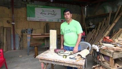 Aprendiendo Juntos - Artesania con bambu