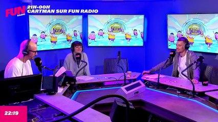 Cartman sur Fun Radio - L'intégrale du lundi 20 septembre