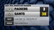 Packers @ Saints Game Recap for SUN, SEP 12 - 04:25 PM ET