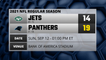 Jets @ Panthers Game Recap for SUN, SEP 12 - 01:00 PM ET