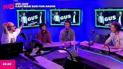 Cartman sur Fun Radio - L'intégrale du mardi 14 septembre