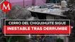 Se reporta nuevo deslave en el Cerro del Chiquihuite