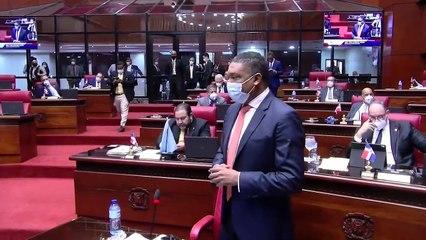 Senador Yván Lorenzo critica que investigados sean llamados ladrones