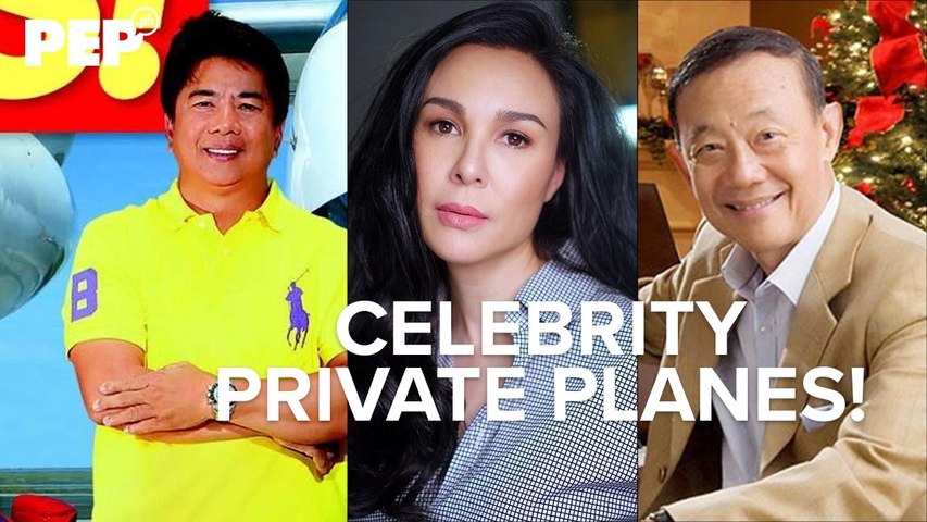 Celebrities and their fancy planes and helicopters