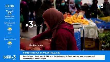 15/09/2021 - Le 6/9 de France Bleu RCFM en vidéo