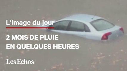 Des pluies record dans le Gard provoquées par de violents orages